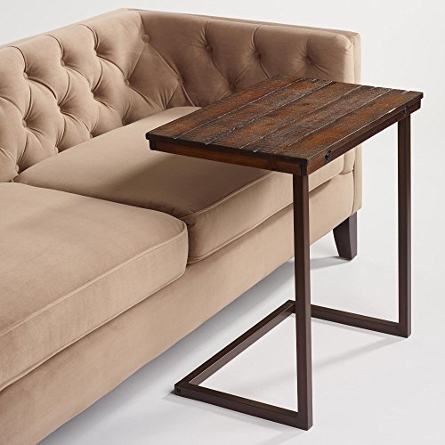 Wood Laptop Table for Couch Recliner and sofa  Slide