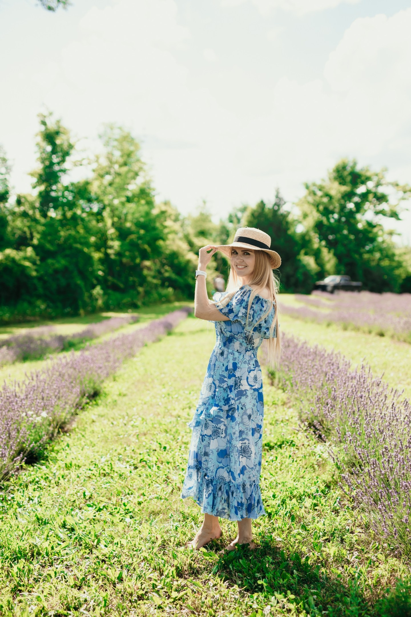 An Afternoon Trip to Terre Bleu Lavender Farm