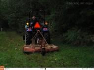 Farm Work Goes On