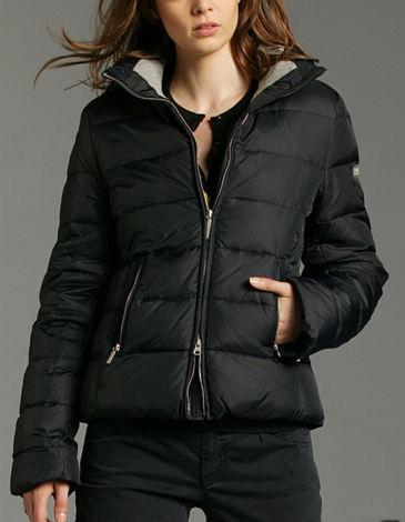 black marc o polo down jacket shiny nylon. Black Bedroom Furniture Sets. Home Design Ideas