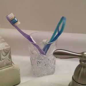 Waterford Crystal Toothbrush Holder