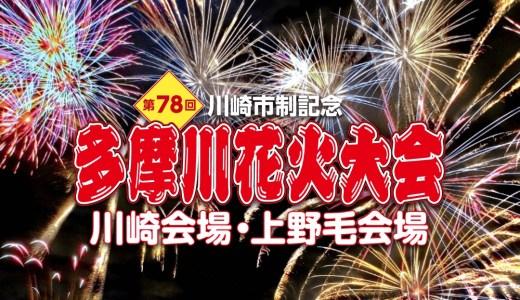 【2019年】毎年人気!恒例の花火大会「川崎市制記念多摩川花火大会」は今年も「世田谷区たまがわ花火大会」と同時開催