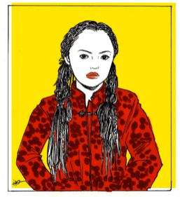 chara(personal illustration)