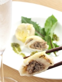 和風ビーフ水餃子(わさび)