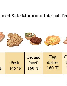 Recommended minimal food temperatures also safety cooking state of ohio rh ship ohworkofcare