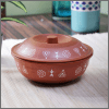 Servewell Terracotta Look Melamine Serving Bowls with Lids