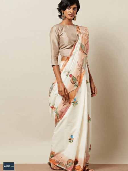 Buy Kerala Sarees from India through online shopping site