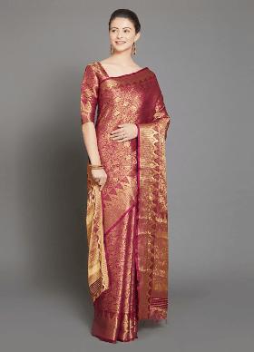 Shop Kanjeevaram Silk Sarees Online India