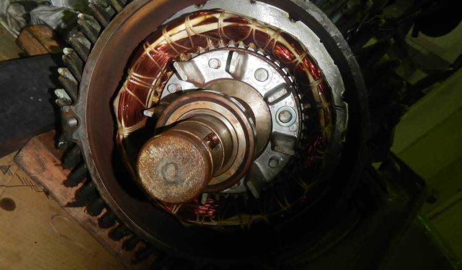 Visual Inspection of Electric Motor