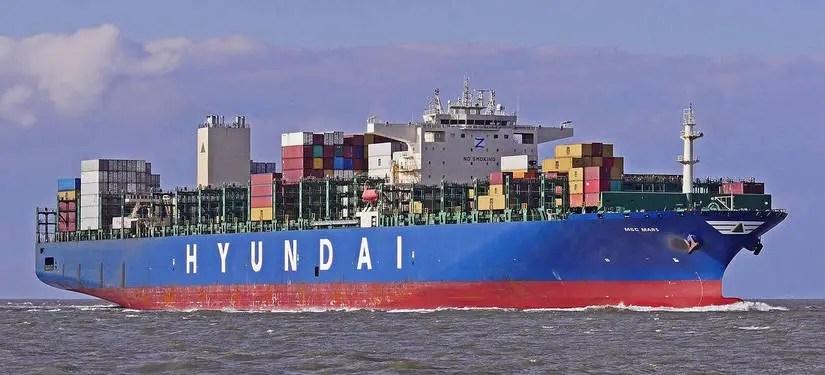 Hyundai Merchant Marine ( Among Growing Container Shipping Companies )