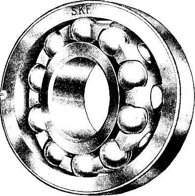 Self align ball bearings