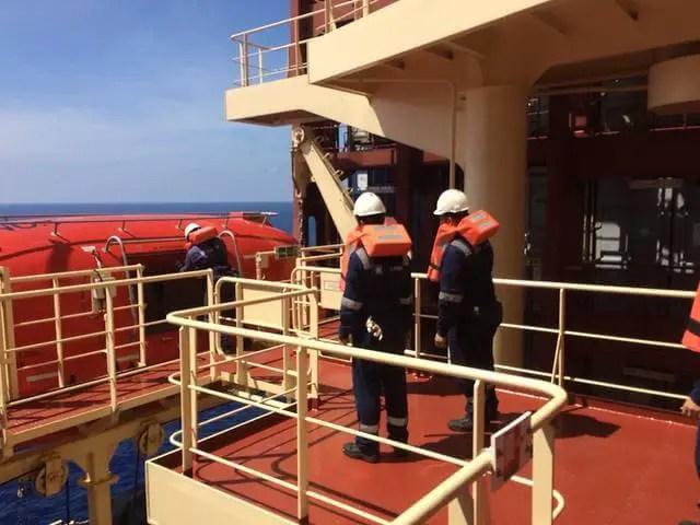 Lifeboat capacity