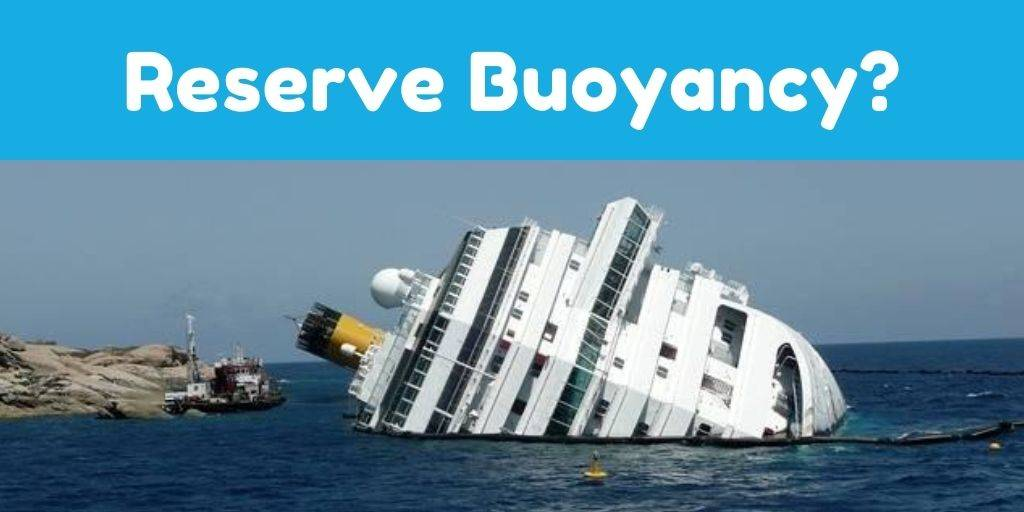 What Is Reserve Buoyancy? ( Ships Stability )