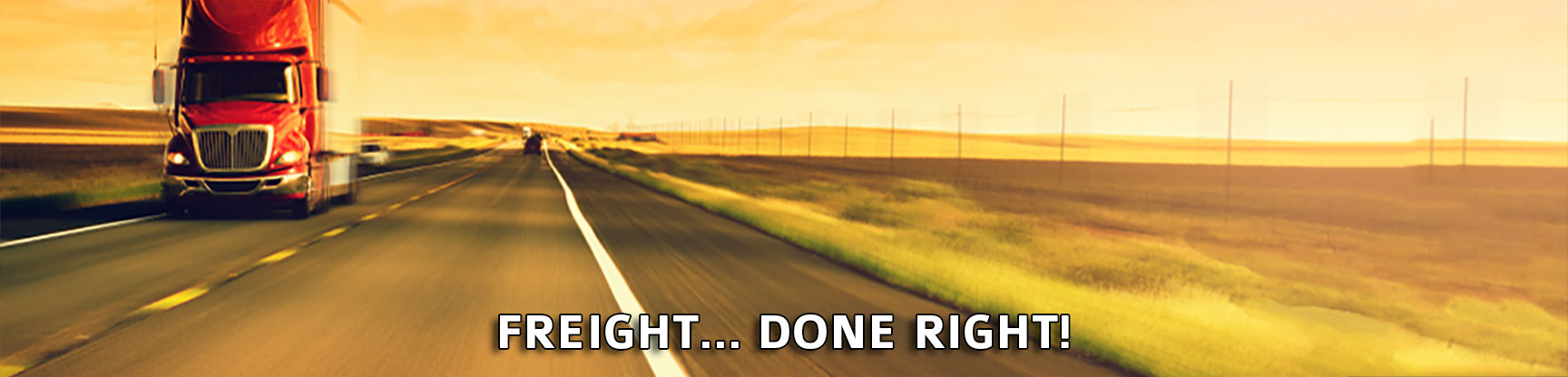 Freight… Done Right