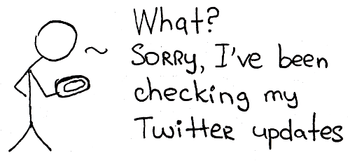 cart twitter updates