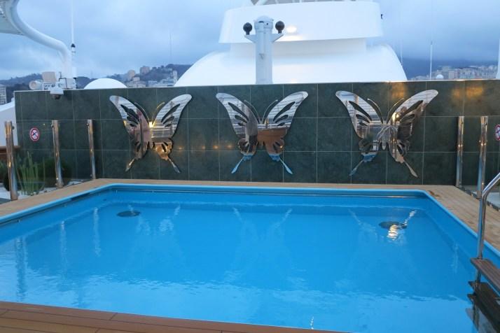 The Yacht Club pool
