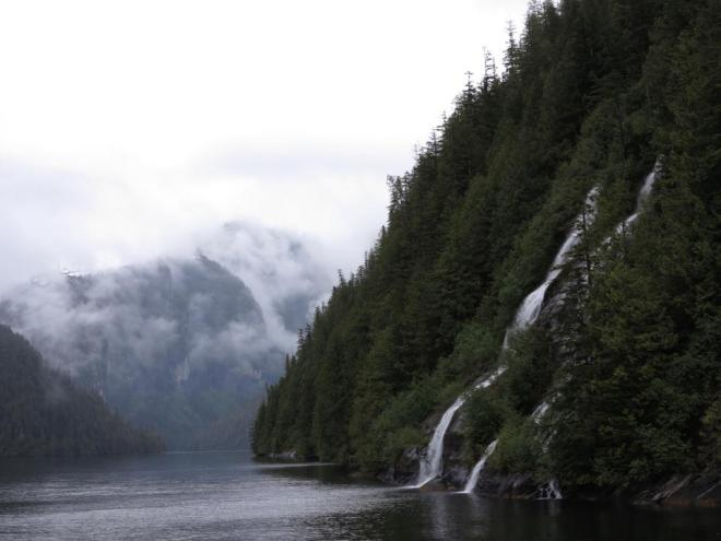 Attraction: The Misty Fjords are one of the highlights of an Alaskan voyage (Photo: Dave Monk)