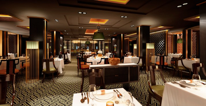 Spice up your evenings: The Sindhu restaurant (Picture: P&O Cruises)