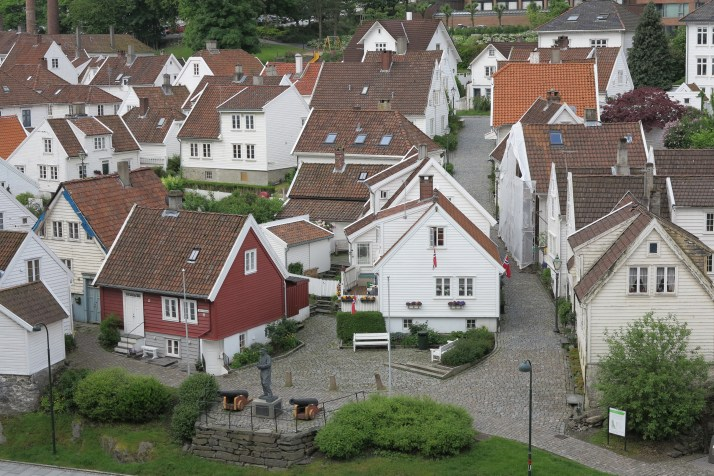 Quaint: Wooden houses in Stavanger