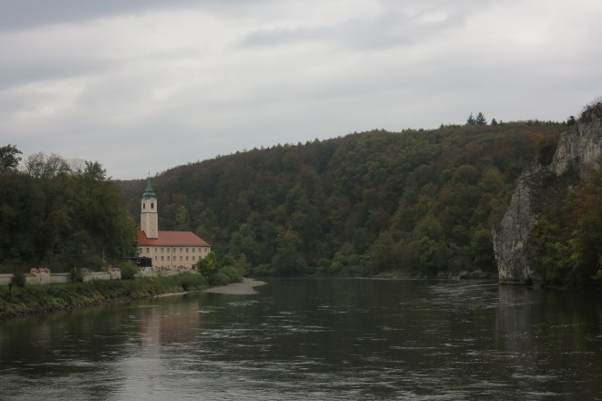 Abbey ending: Weltenburg Abbey lies on the Danube Narrows