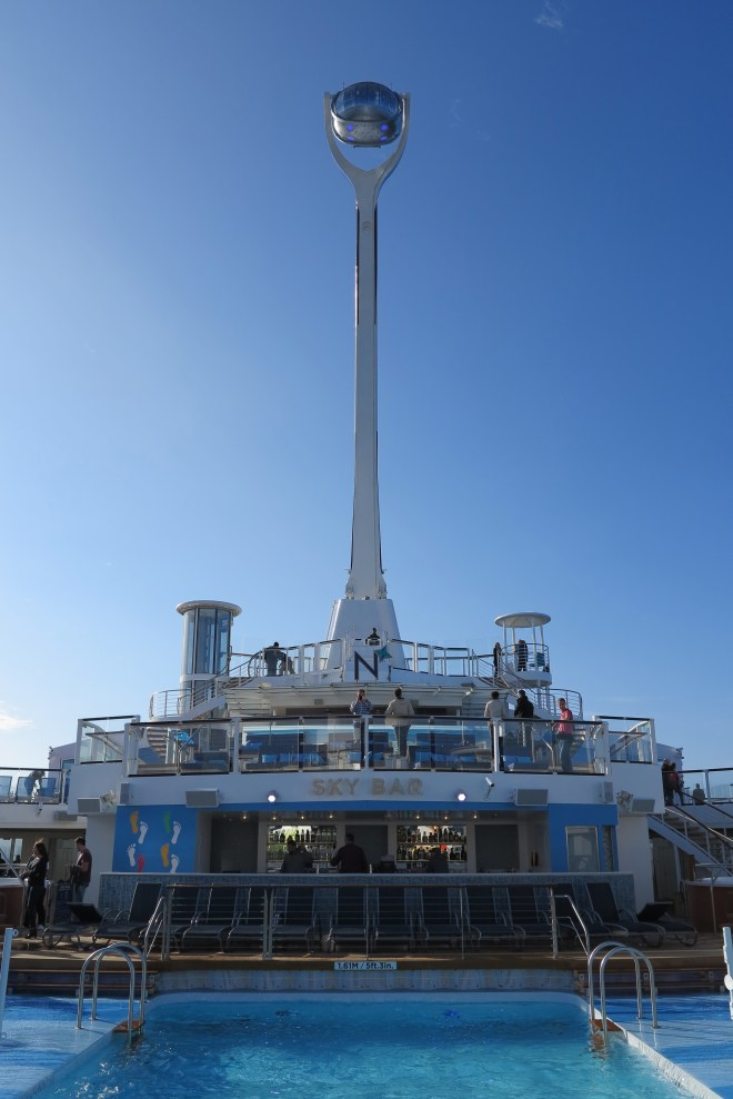 Rising Star: The North Star lifts passengers 300ft above the waves