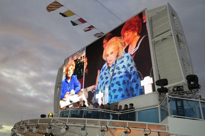 Everybody loves Doris: Doris Roberts was one of the Love Boat favourites on board