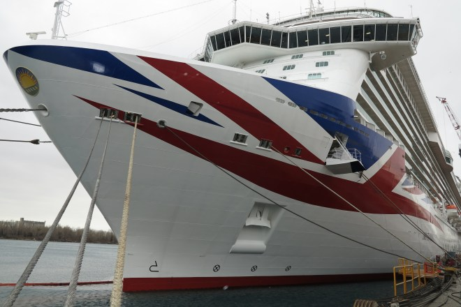 Flying the flag: Britannia in Trieste