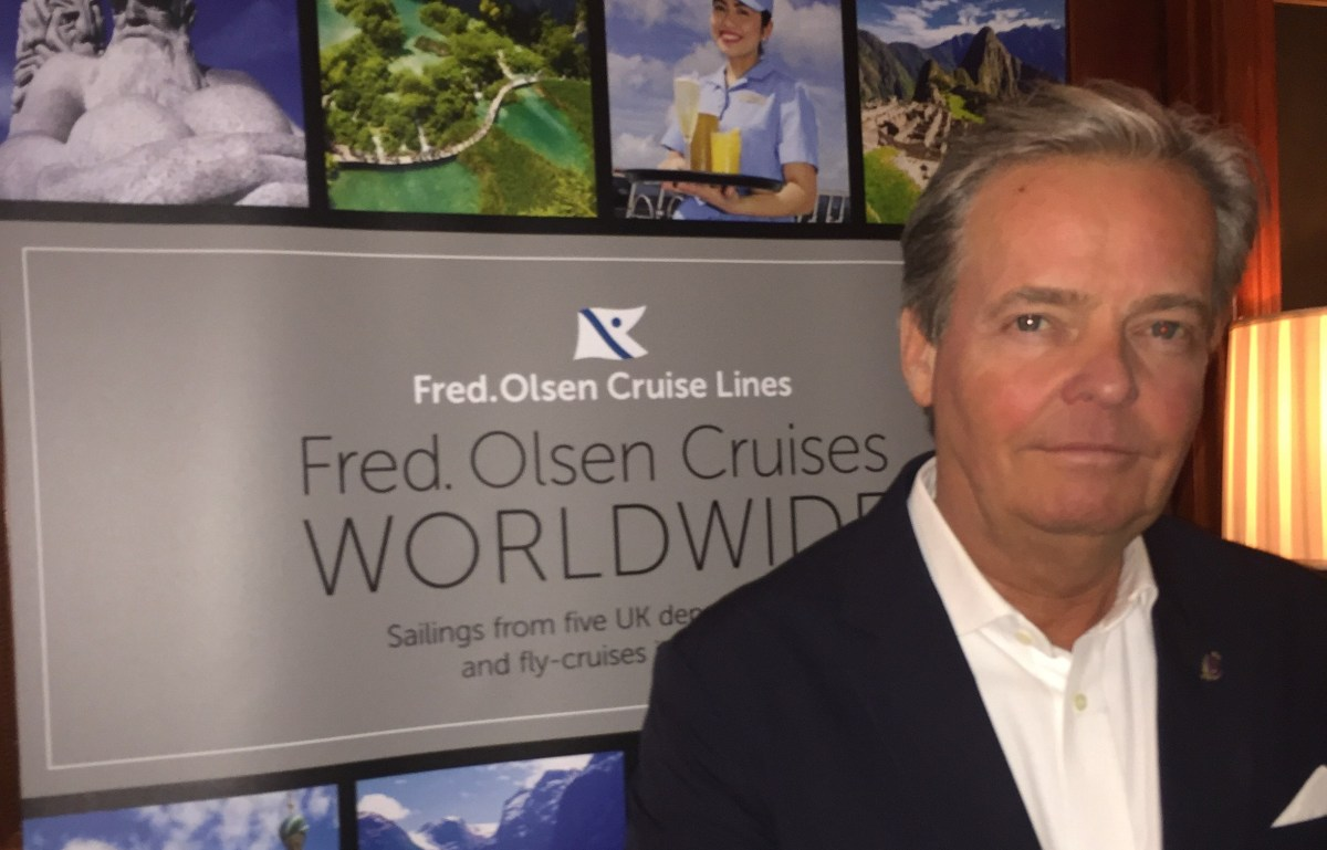 'Series' of new 600-passenger ships announced by Fred. Olsen Junior at launch of cruise line's 2019/20 brochure
