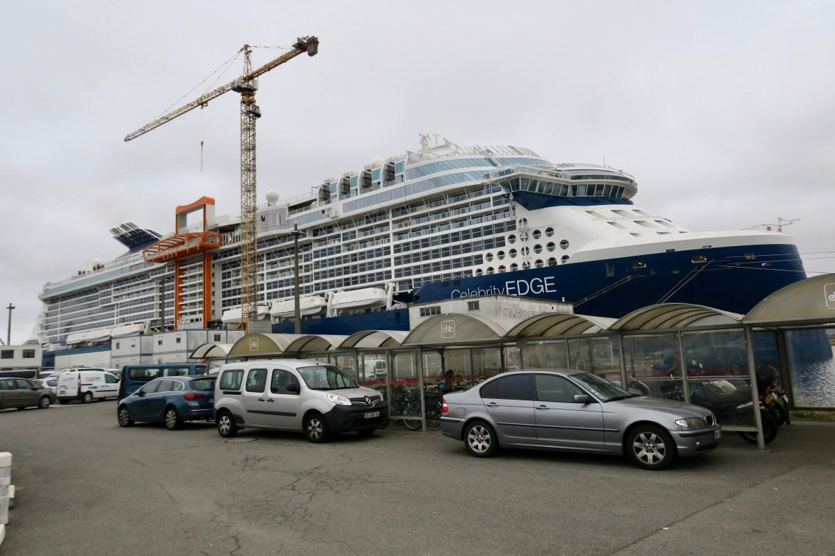 A photo tour of Celebrity Edge in its French shipyard