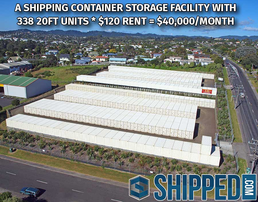 Shipping Container Storage Facility