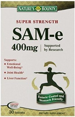 Nature's Bounty SAM-e 400mg 30 Tablets