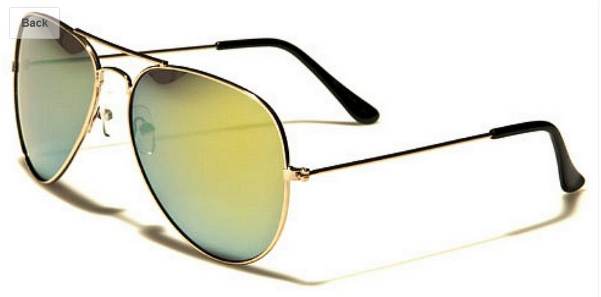 Air Force Brand Aviator Sunglasses--Classic Style and Shape