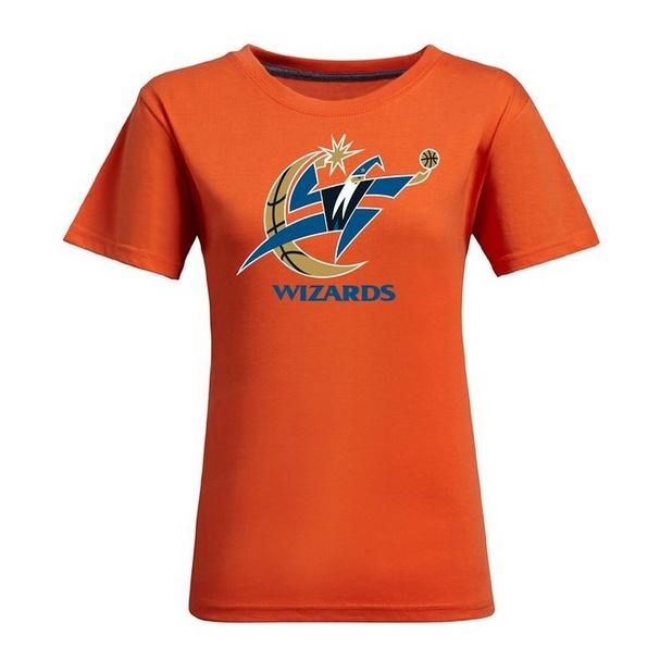 timeless design 3a45d 18159 NBA Washington Wizards Women's Jersey T-Shirt (Orange)