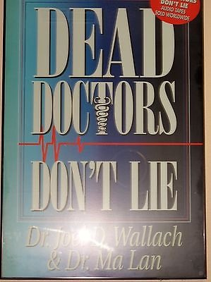 DEAD DOCTORS DONT LIE Book By Dr. Joel Wallach with FREE CD Fast Shipping