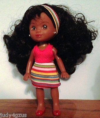 KENYA MINI DOLL Hair Madness FUNNY GIRL 7 Kenya's World ~ New