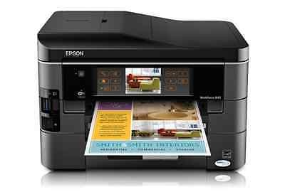 Brand New Epson WorkForce 845 All-in-One Wireless Color Two-Sided Inkjet Printer