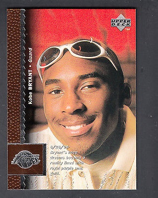 Kobe Bryant 1996 97 Upper Deck Basketball Rookie Card 58 La Lakers For Sale