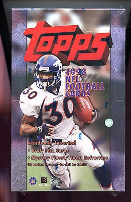 1998 Topps Football Wax Pack Box Peyton Manning Rookie Card Set Rc For Sale