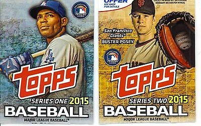 2015 Topps Baseball 1 And 2 Complete Set 1 701 Bryant Rookie Card For Sale