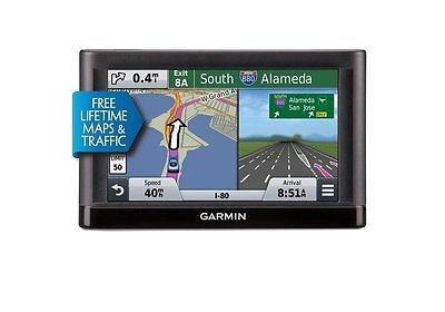 Garmin Nuvi 65LMT 6 GPS Navigation System Lifetime Maps Traffic 010-01211-04