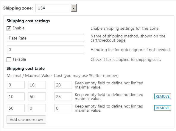 Easy WooCommerce Weight Based Shipping 1