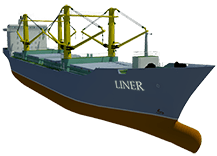 Difference between a liner and tramp service