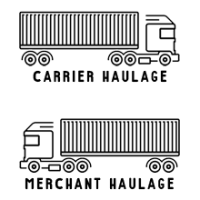 Difference between carrier and merchant haulage