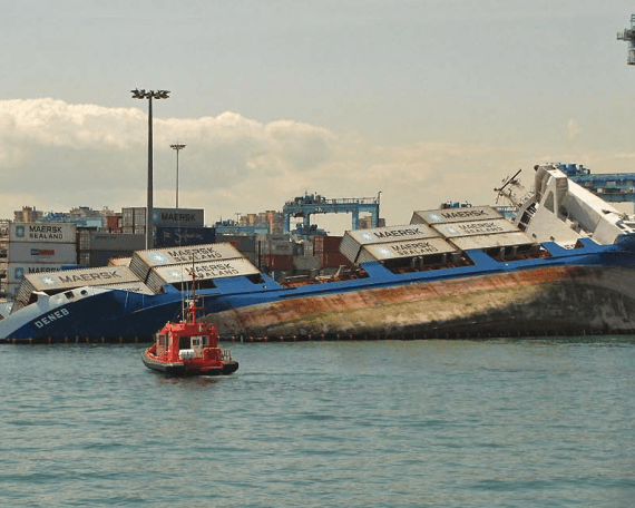 deneb - Consequences of container weight misdeclaration - a pictorial
