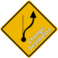 change of destination - shipping and freight resource