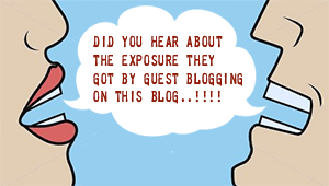image for guest blogging