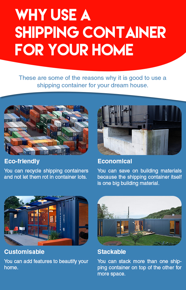 Why Use A Shipping Container For Your Home