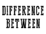 image for difference between