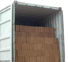 image for container with bricks