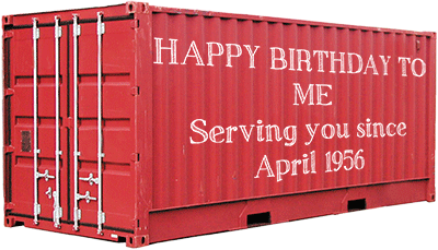 Container Birthday